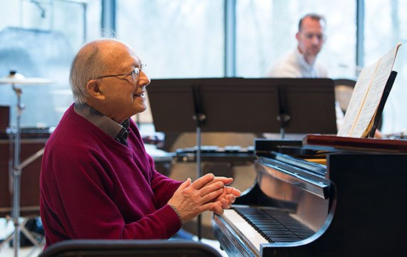 Pianist Gilbert Kalish