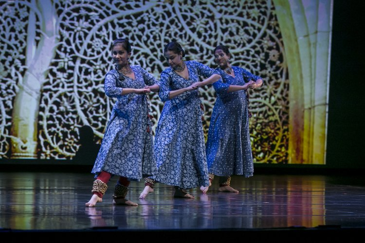 Three Kathak Dancers