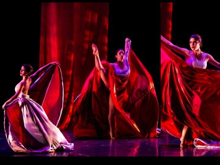 Leela Britman dancing