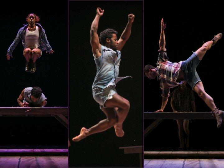Brian Sanders and Junk dancers