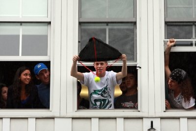 Tennis ball drop for Engineering 5