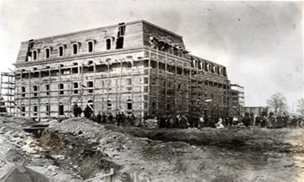 Parrish Under Construction