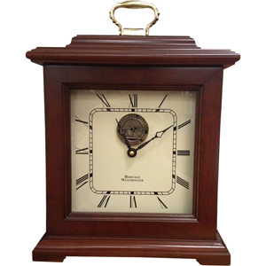 Clock with College Seal