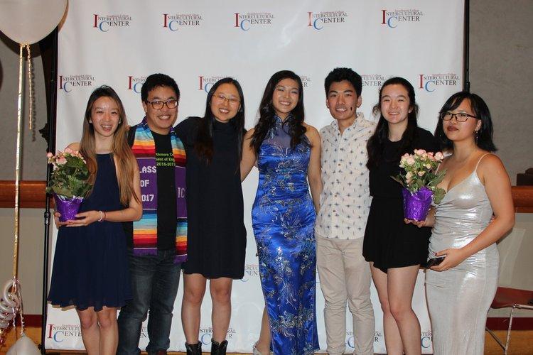 Members of SAO at IC awards dinner