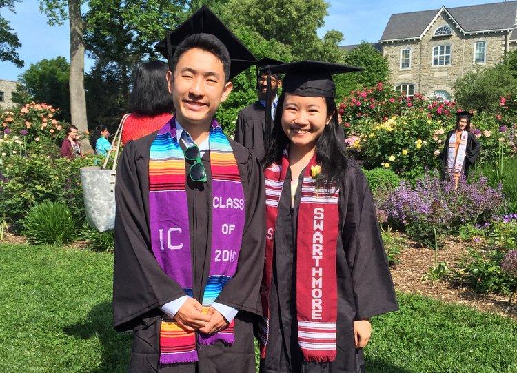 2016 Graduates in Japanese