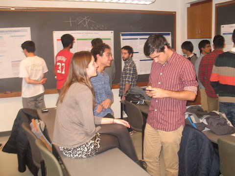 Picture of Math 97 Senior Conference Poster Session