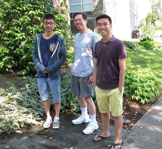 Jason Lin, Steve Wang, Tuan Nguyen