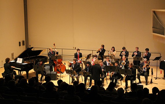 The Swarthmore College Jazz Ensemble's Fall 2014 concert, directed by Andrew Neu.