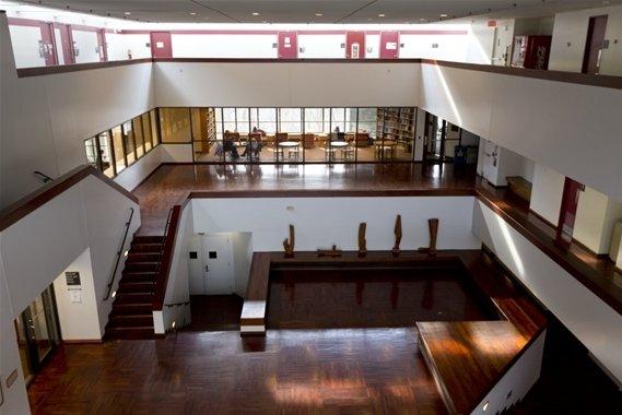 Lang Music Building lobby