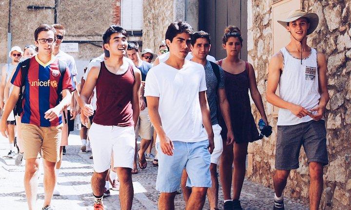 Men's soccer in Barcelona