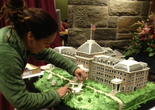 Parrish Hall cake
