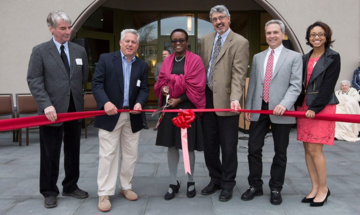 Ribbon Cutting Ceremony for the Inn