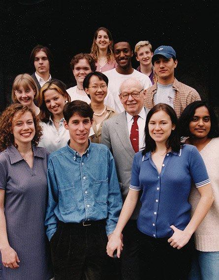 Eugene Lang and lang scholars
