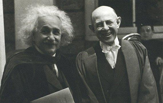 Albert Einstein and Frank Aydelotte