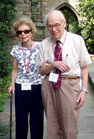 Eugene Lang '38 and Theresa Lang
