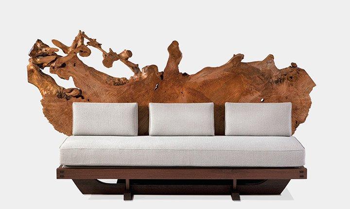Mira Nakashima's Tsuittate Sofa