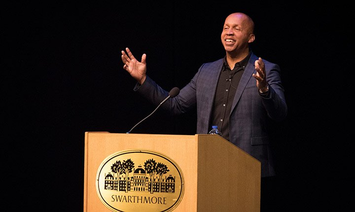 Bryan Stevenson delivers his lecture
