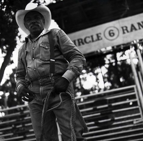 A.J. Walker, owner of the Circle 6 Ranch in Raywood, Texas.