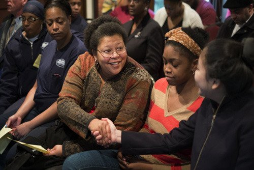 Kwanzaa Celebration - Photo by Laurence Kesterson