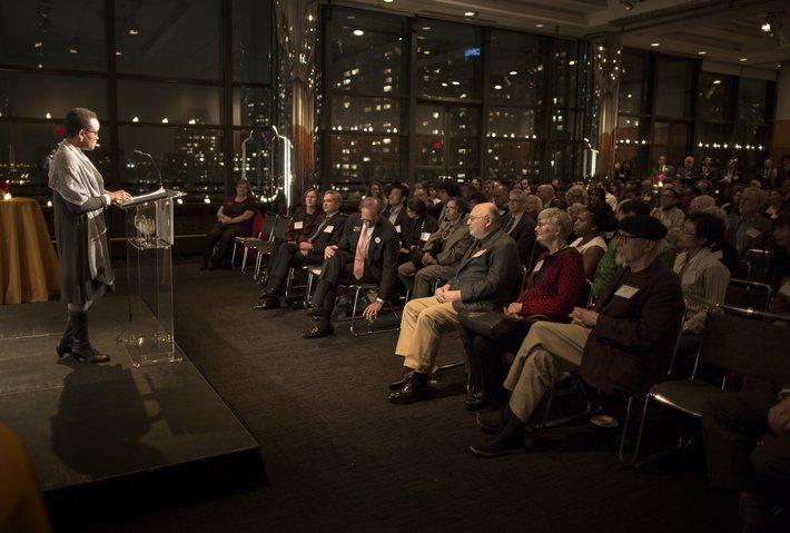 President Smith in New York City