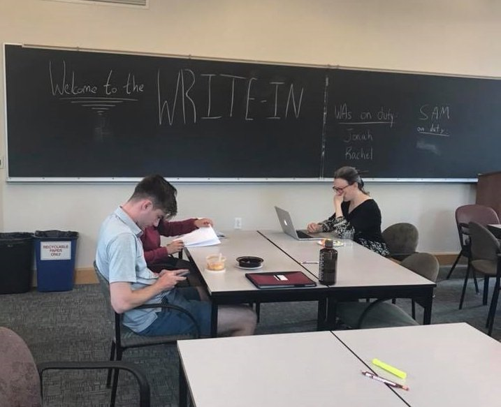 End of the semester Community Write-In