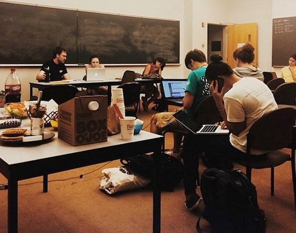 Photo of a Fall 2014 Fulbright Write-In