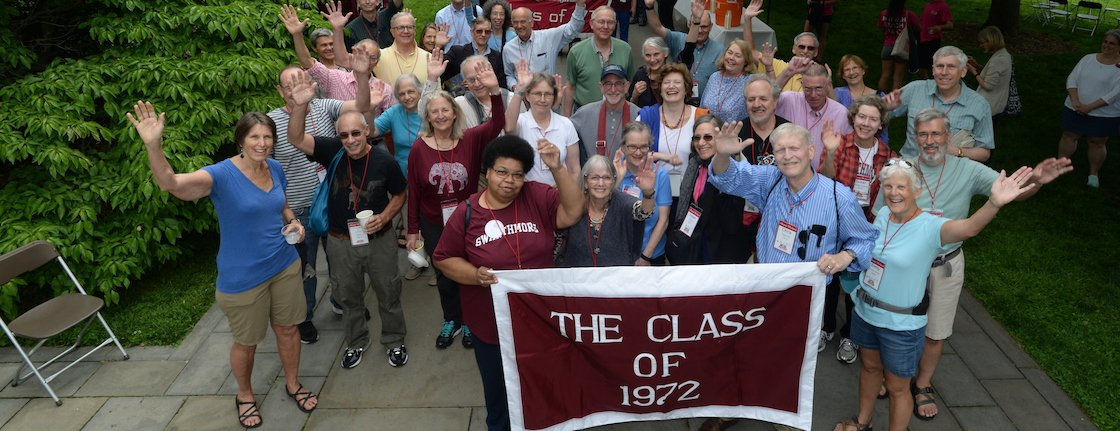Class of 1972 at Alumni Weekend