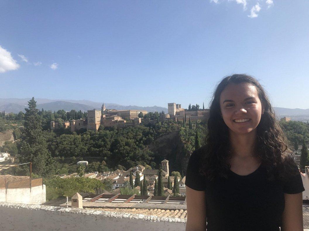 Student in Barcelona, Spain