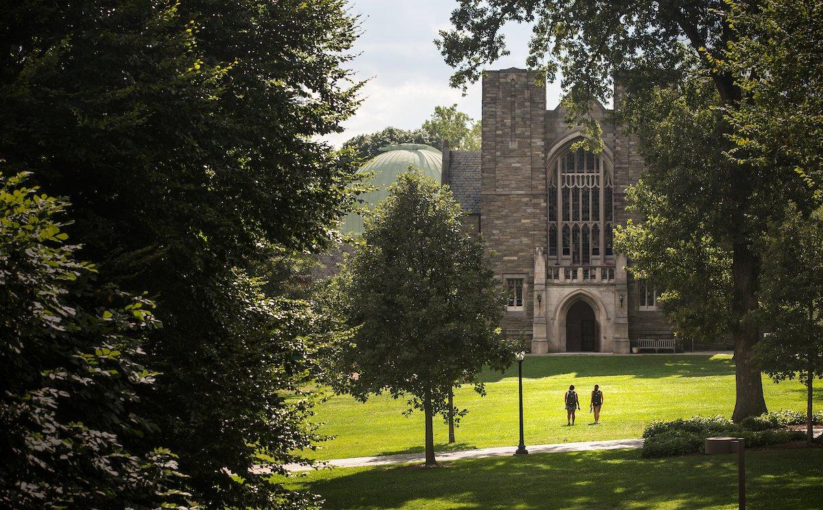 El campus de Swarthmore