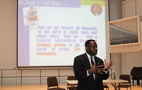 Keith Reeves, Associate Professor of Political Science and Center for Social and Policy Studies Director