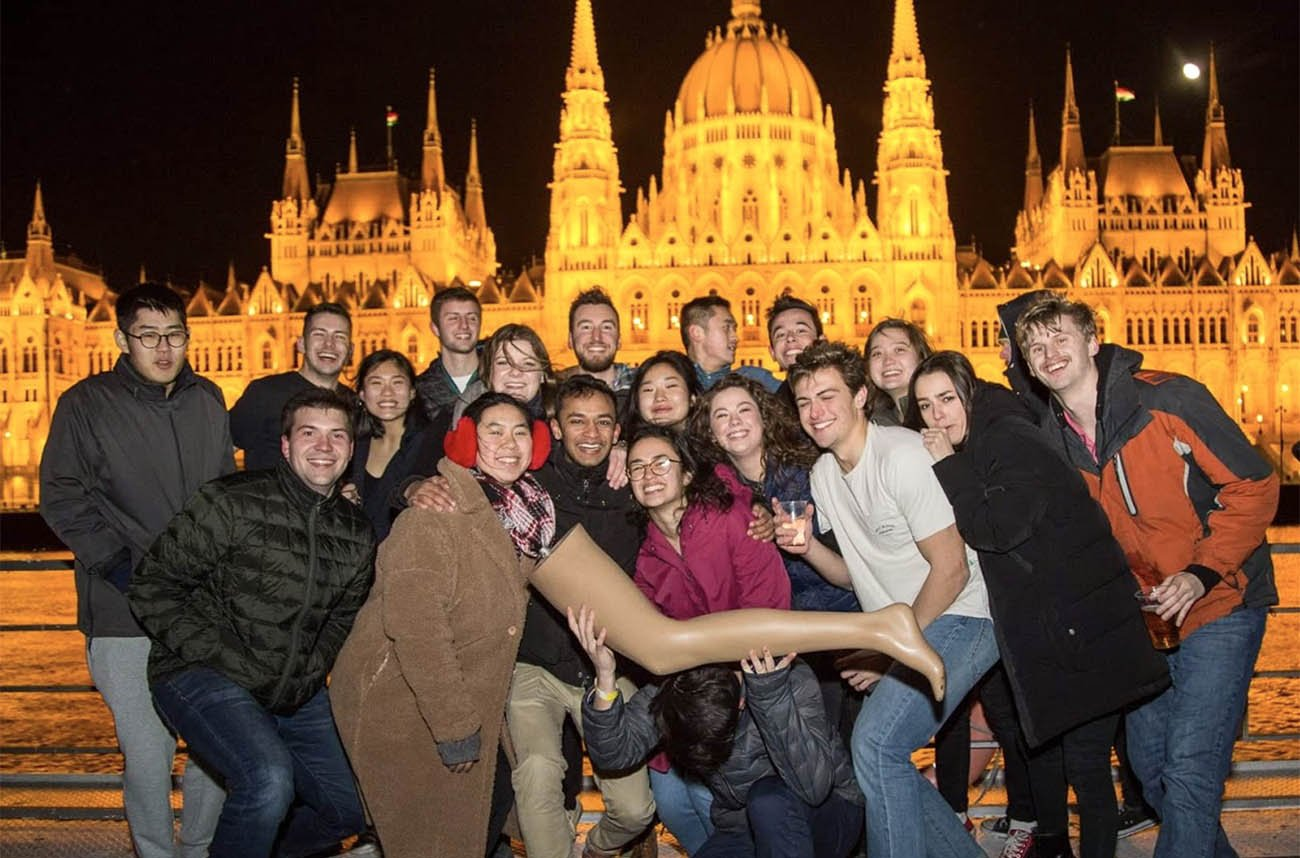 Students in Budapest