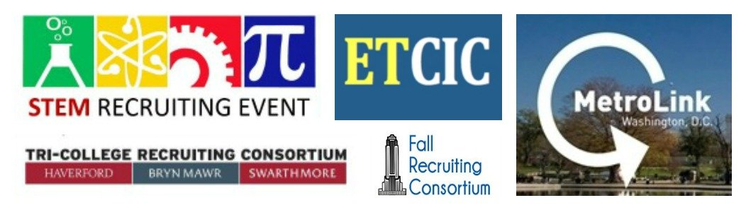collage of consortium logos