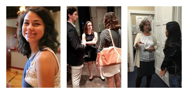 collage of swarthmore students networking