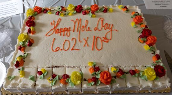 Mole Day Cake