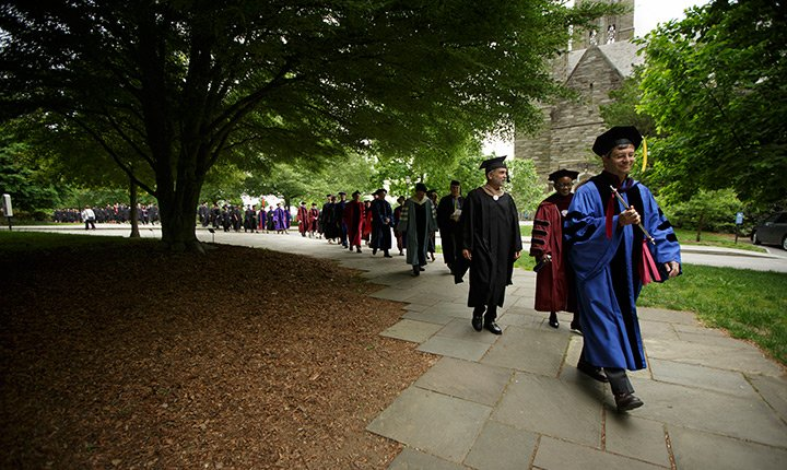 Swathmore College Commencement