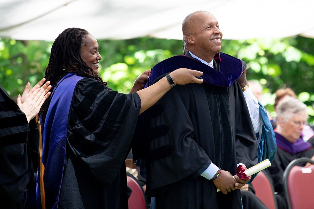 Bryan Stevenson receives honorary degree
