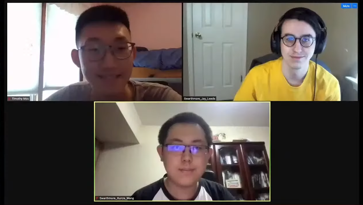 Timothy Mou, Jay Leeds, and Henry Wang