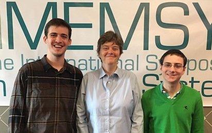 Ryerson Lehman-Borer '16, Professor Tia Newhall, and Ben Marks '15