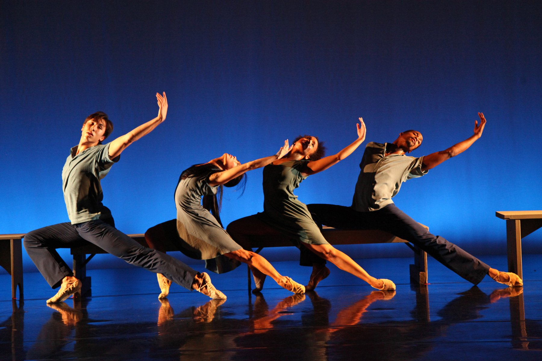 LtoR: Alex Ratcliffe-Lee, Sun Mi Cho, Anna Noble, Daniel Moore (Photo by Bill Hebert)