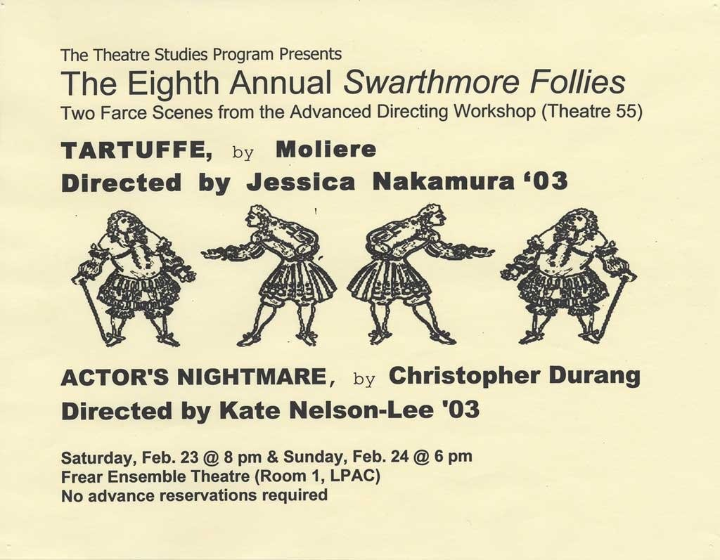 The Eighth Annual Swarthmore Follies
