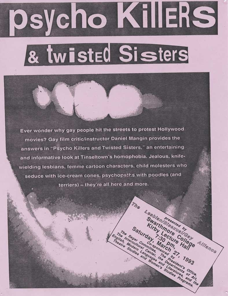 Psycho Killers and Twisted Sisters