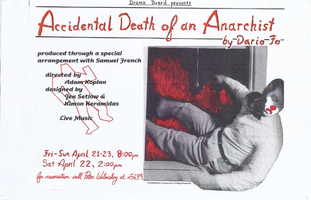 Accidental Death of an Anarchist