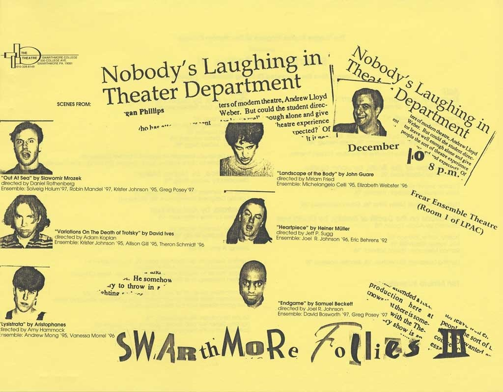 The Third Annual Swarthmore Follies