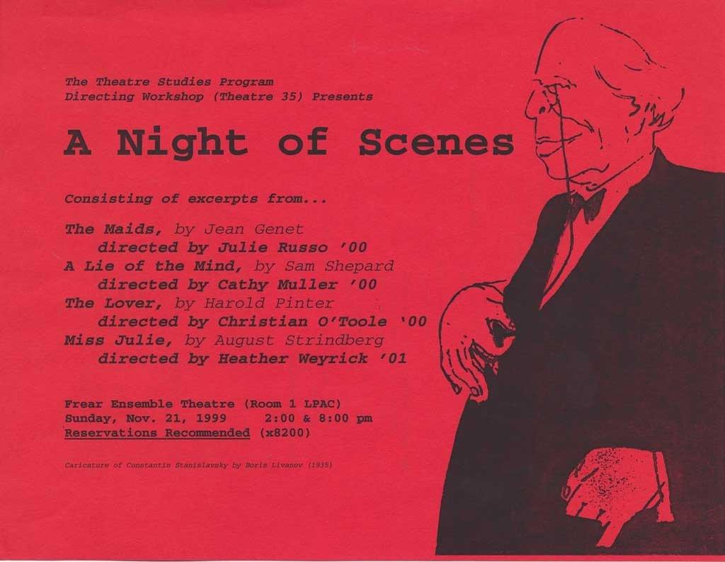 Directing I: Night of Scenes '99
