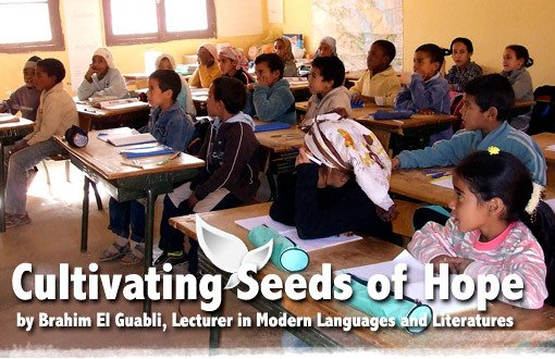 Cultivating Seeds of Hope by Brahim El Guabli, Lecturer in Modern Languages and Literatures