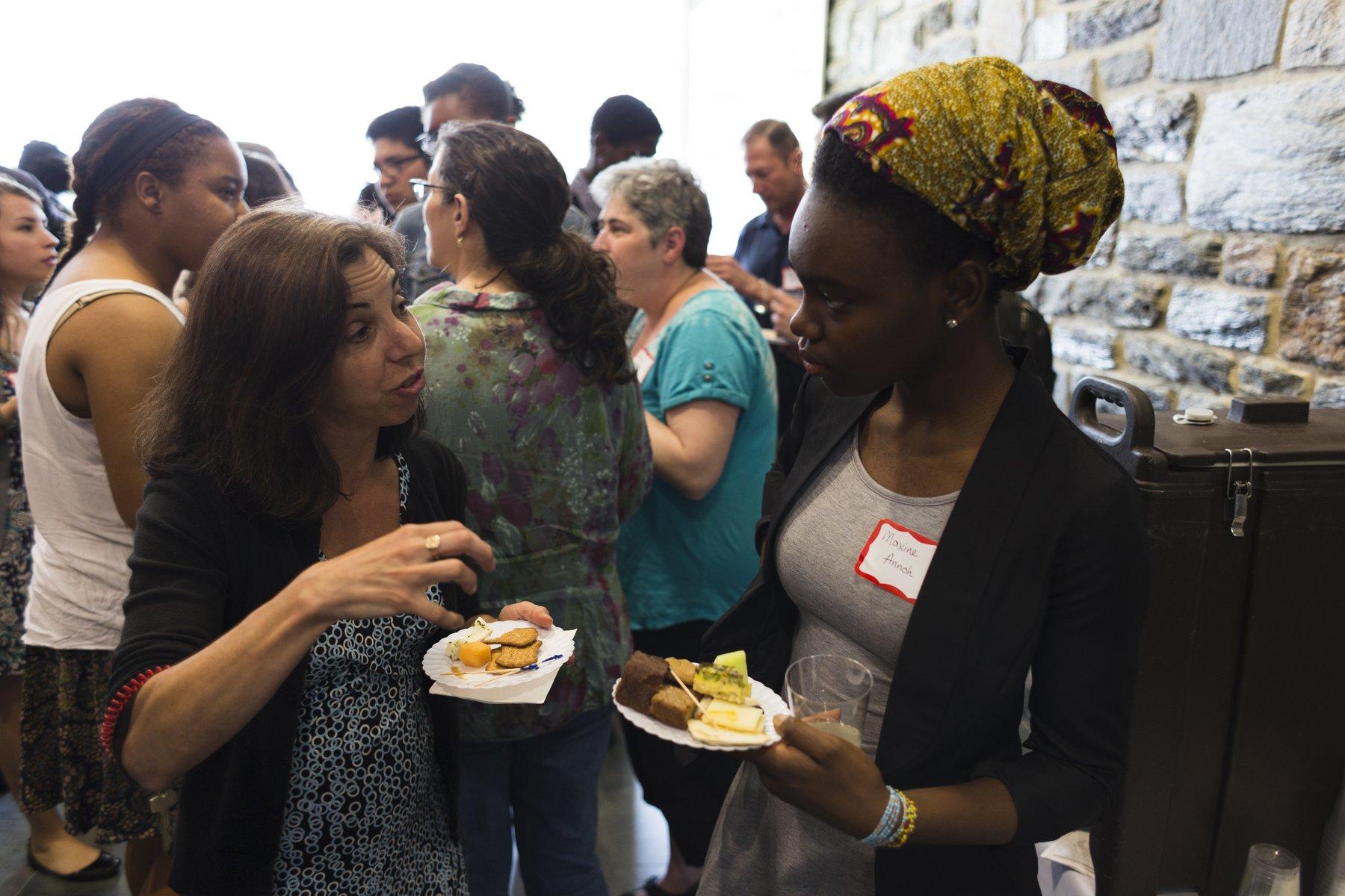 A Rubin Scholar and mentor share ideas