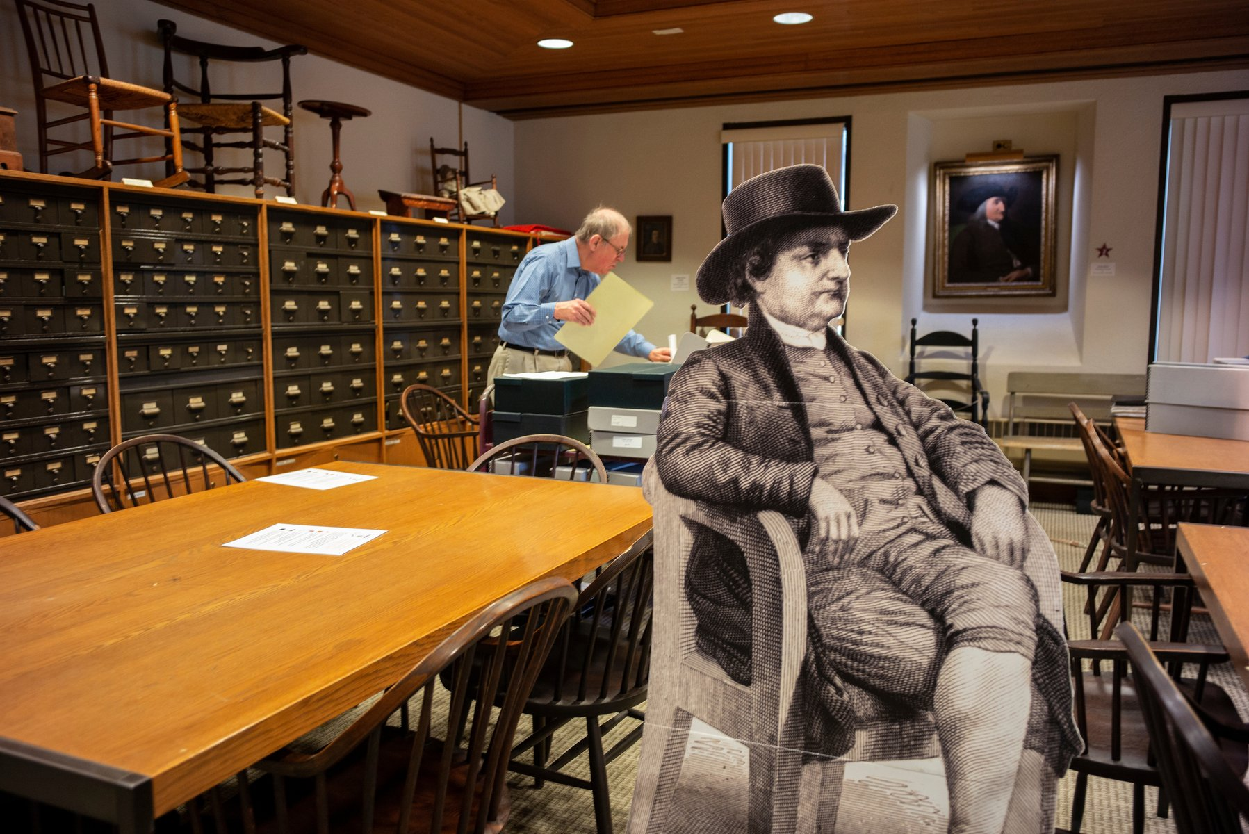 Friends Historical Library reading room