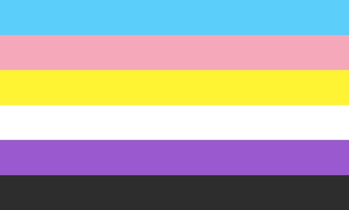 Transgender and nonbinary flag