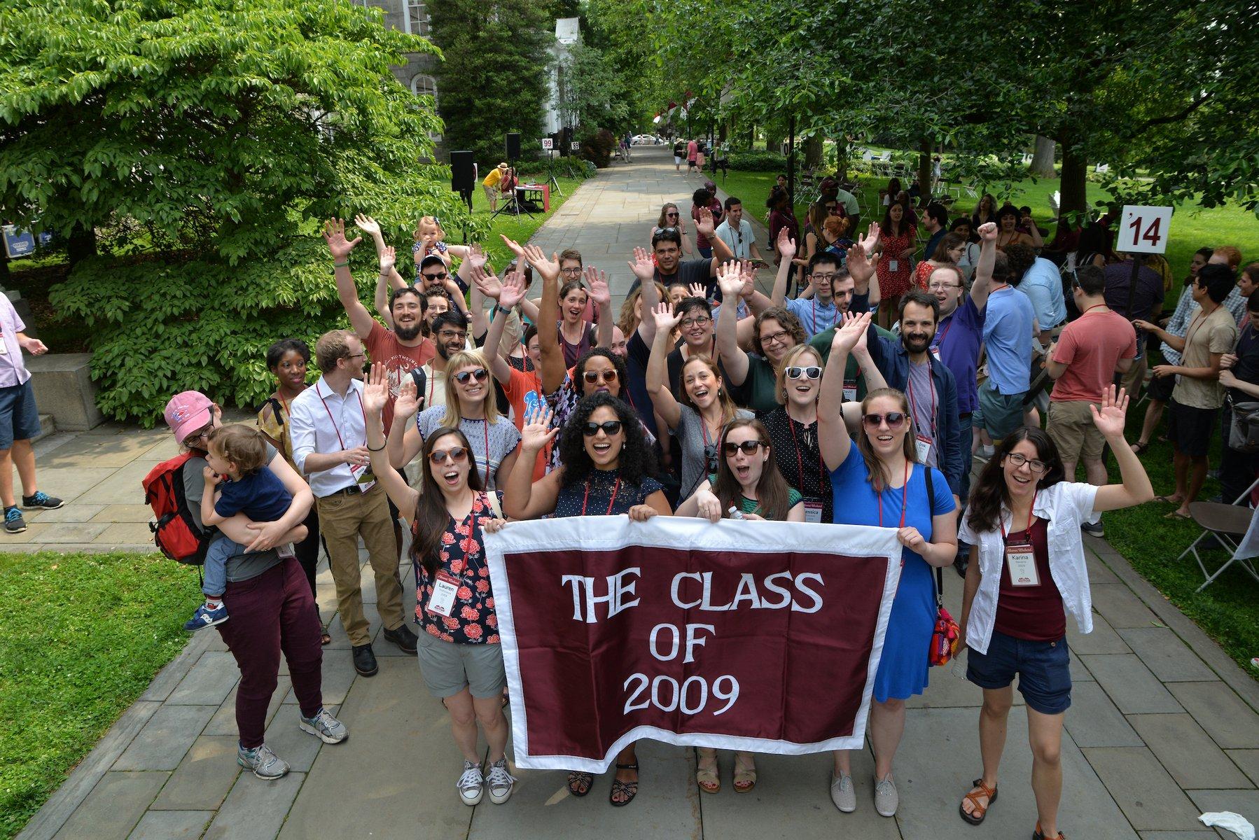 group photo class of 2009 garnet weekend