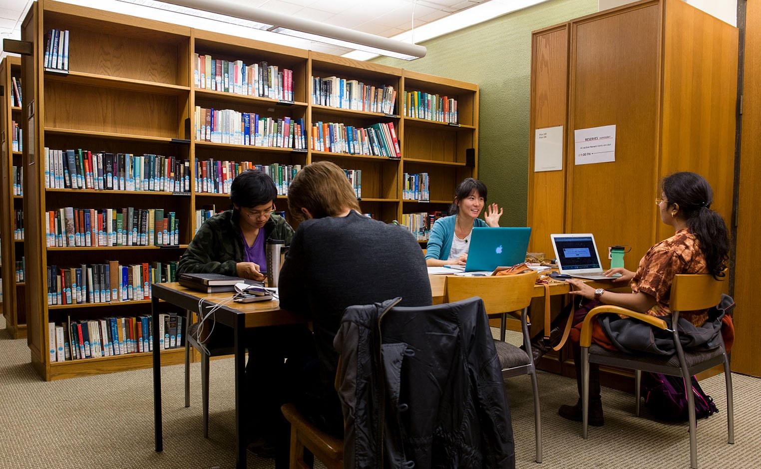students doing research in mccabe